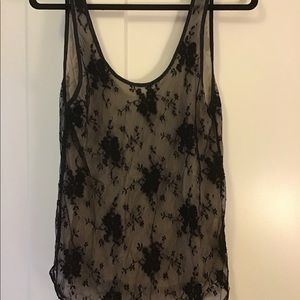 Wilfred Lace (Silk lined) Tank